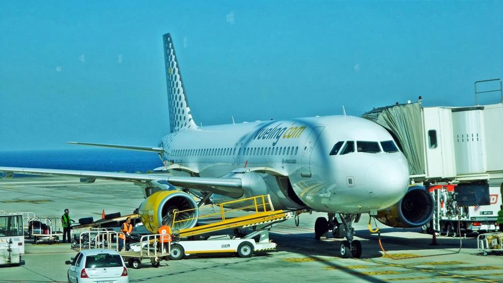 Avião da Companhia Low Cost Vueling