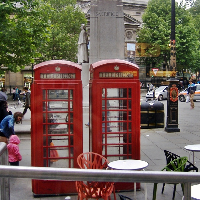 London Calling - Cabines Telefonicas Londres