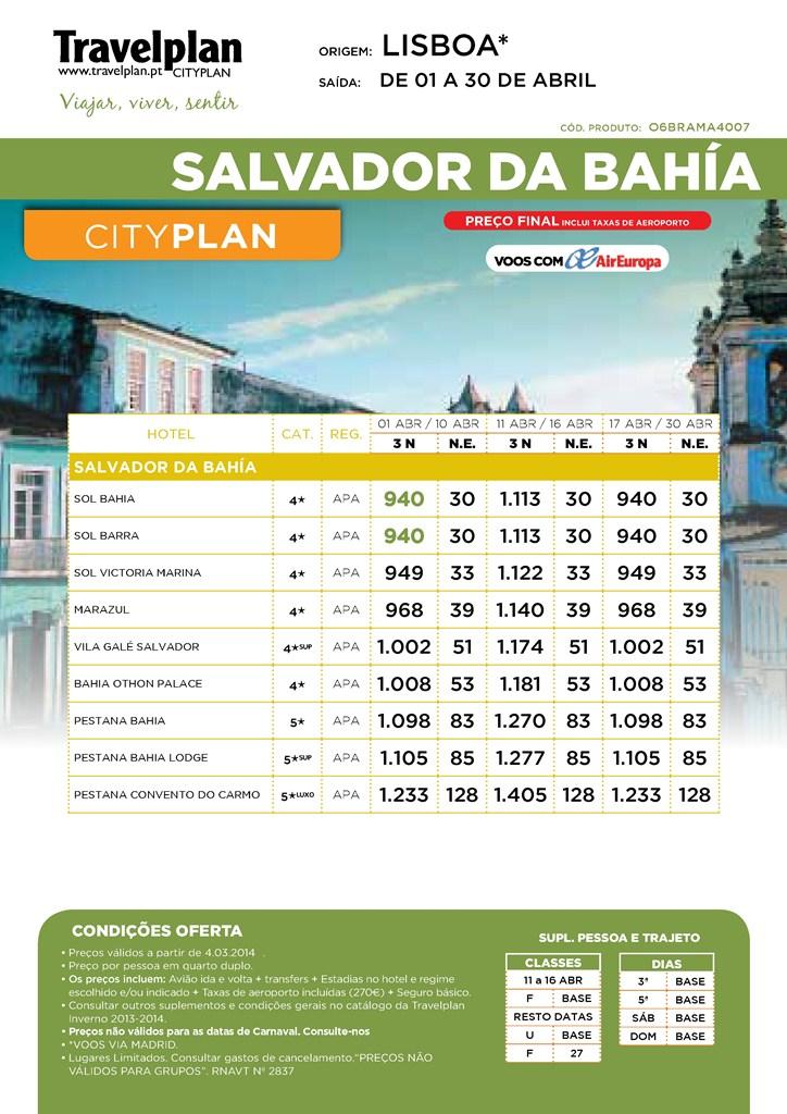 Salvador da Bahia Brasil Abril 2014