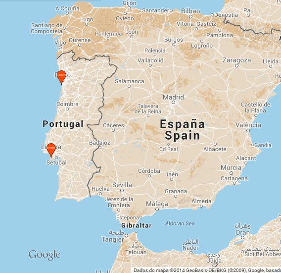 Bases da EasyJet em Portugal