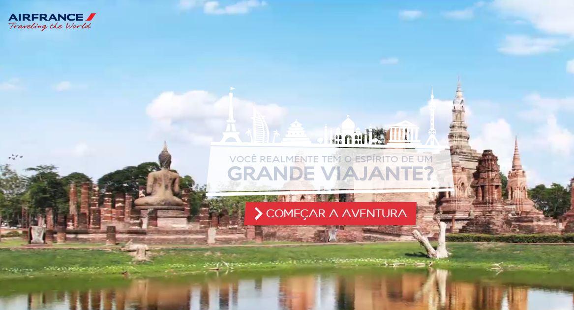 Concurso Traveling the World da Air France