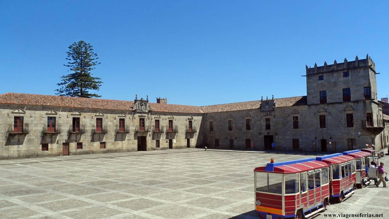 Praza de Fefiñáns em Cambados na Galiza