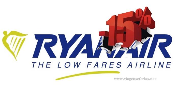 Ryanair desce preços em 15% nos próximos 2 anos