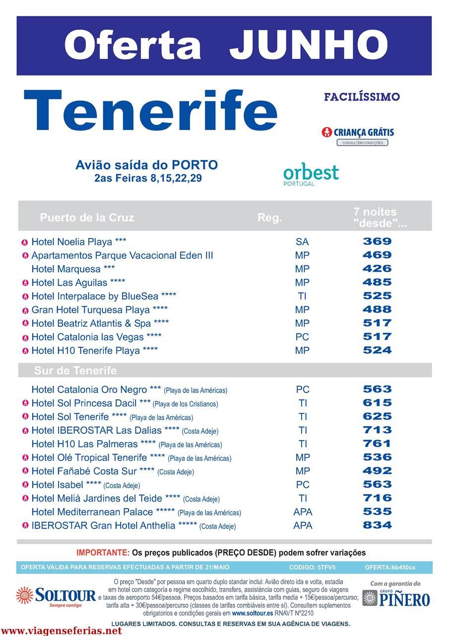 Tenerife sa das em junho 2015 do porto desde 369 viagens e f rias - Airport transfers tenerife south to puerto de la cruz ...