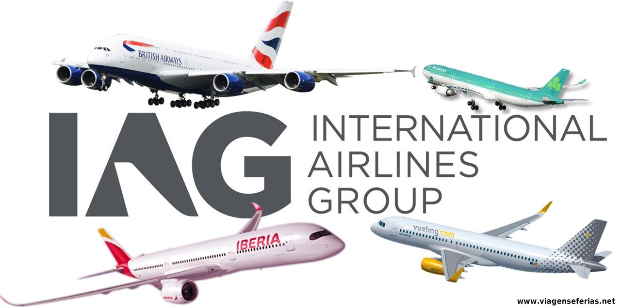 4 Companhias grupo IAG: British, Vueling, Iberia, Aer Lingus