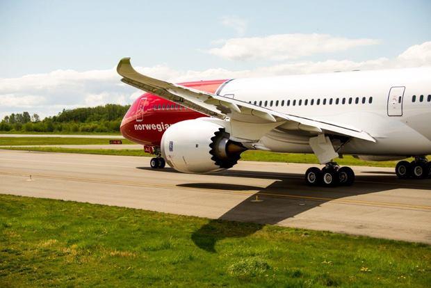 Segundo Boeing B787-9 da Low Cost Norwegian Air