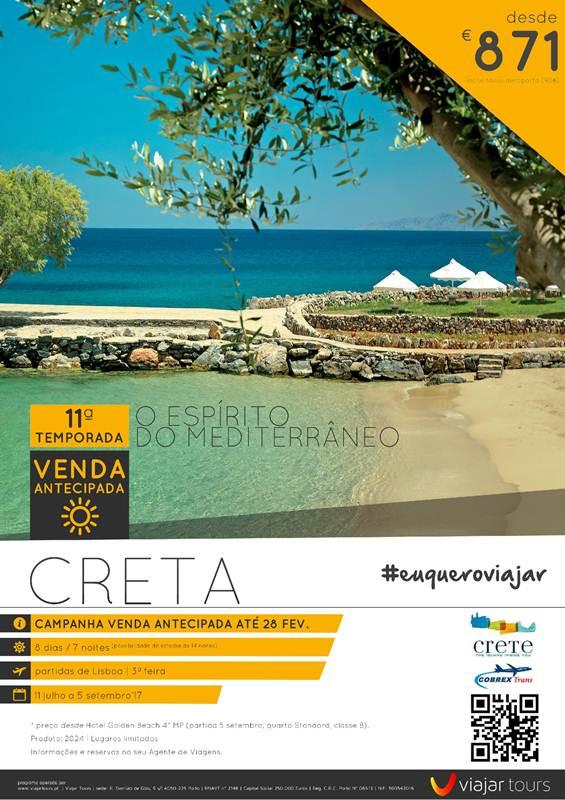 Programa de férias de 7 noites em Creta desde 871€