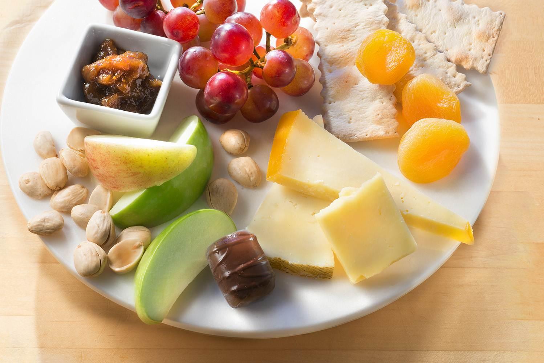 Um dos pratos do pequeno-almoço da classe económica Delta nos EUA