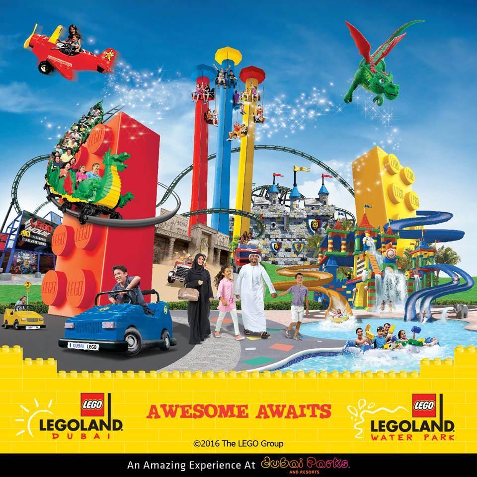 Legoland Dubai Hotel vai ser o primeiro do Médio Oriente e 7º do Mundo