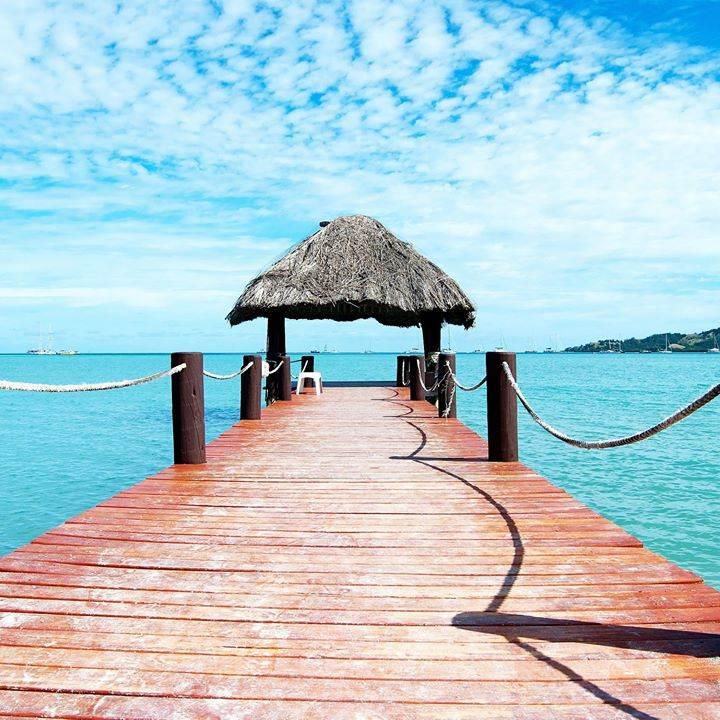 Passatempo dia da Felicidade para ganhar uma viagem às ilhas Fiji