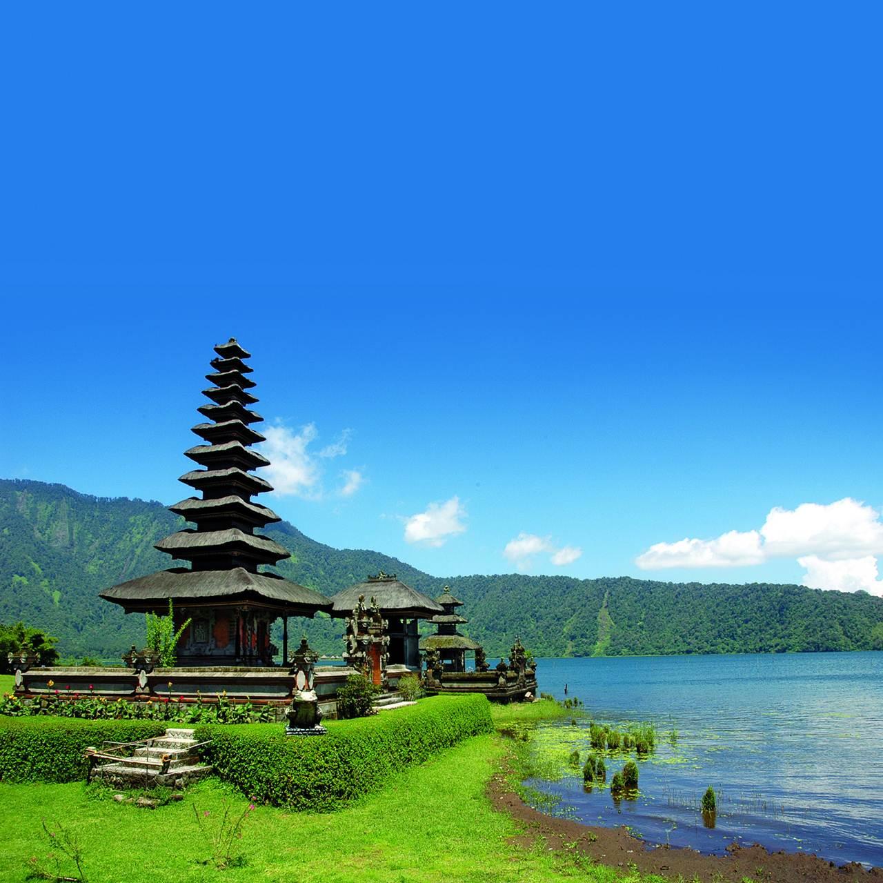 Paisagem de Bali para onde a Qatar Airways vai ter 3 voos por dia