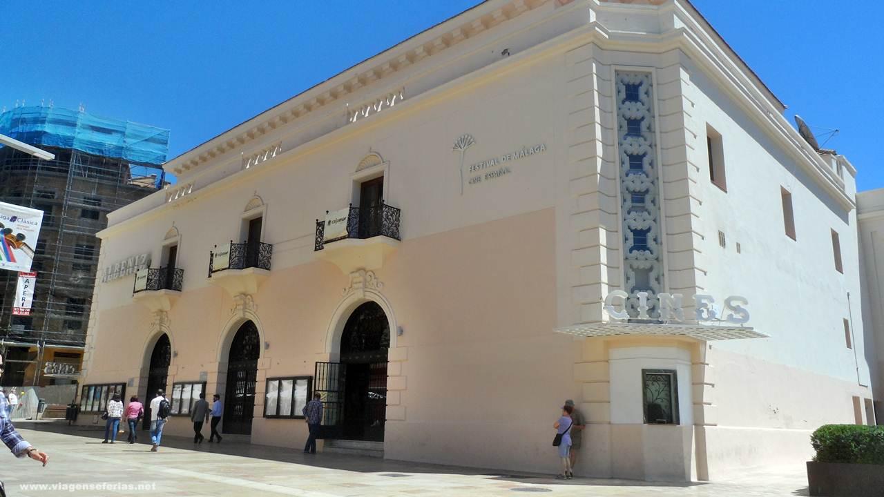 cine Albéniz durante o Festival de Málaga, cidade para onde voa a SAS
