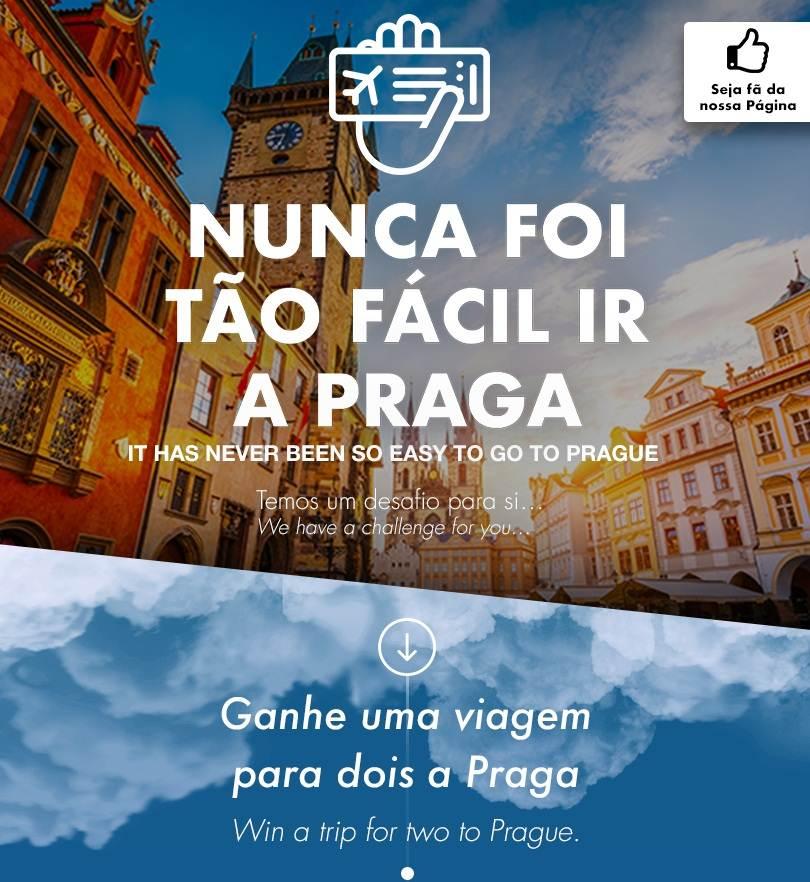 Nunca foi tão fácil ir a Praga: Passatempo da Ana Aeroportos