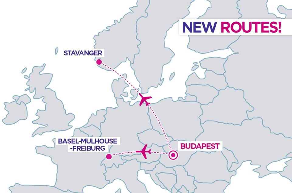 Expansão da Wizz Air em Budapeste com 2 novas rotas e mais voos para o Porto
