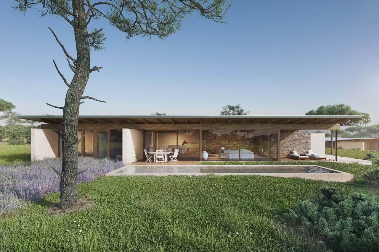 Projecto das Villas do Resort turístico na Costa da Prata