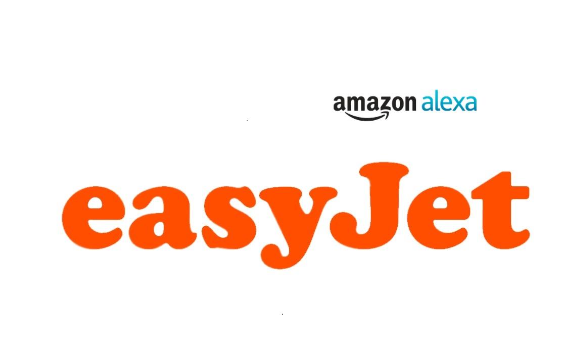 Logo da Amazon Alexa e da easyJet