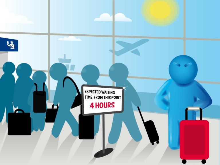 A4E alerta para filas de 4 horas em aeroportos europeus no controlo de fronteira
