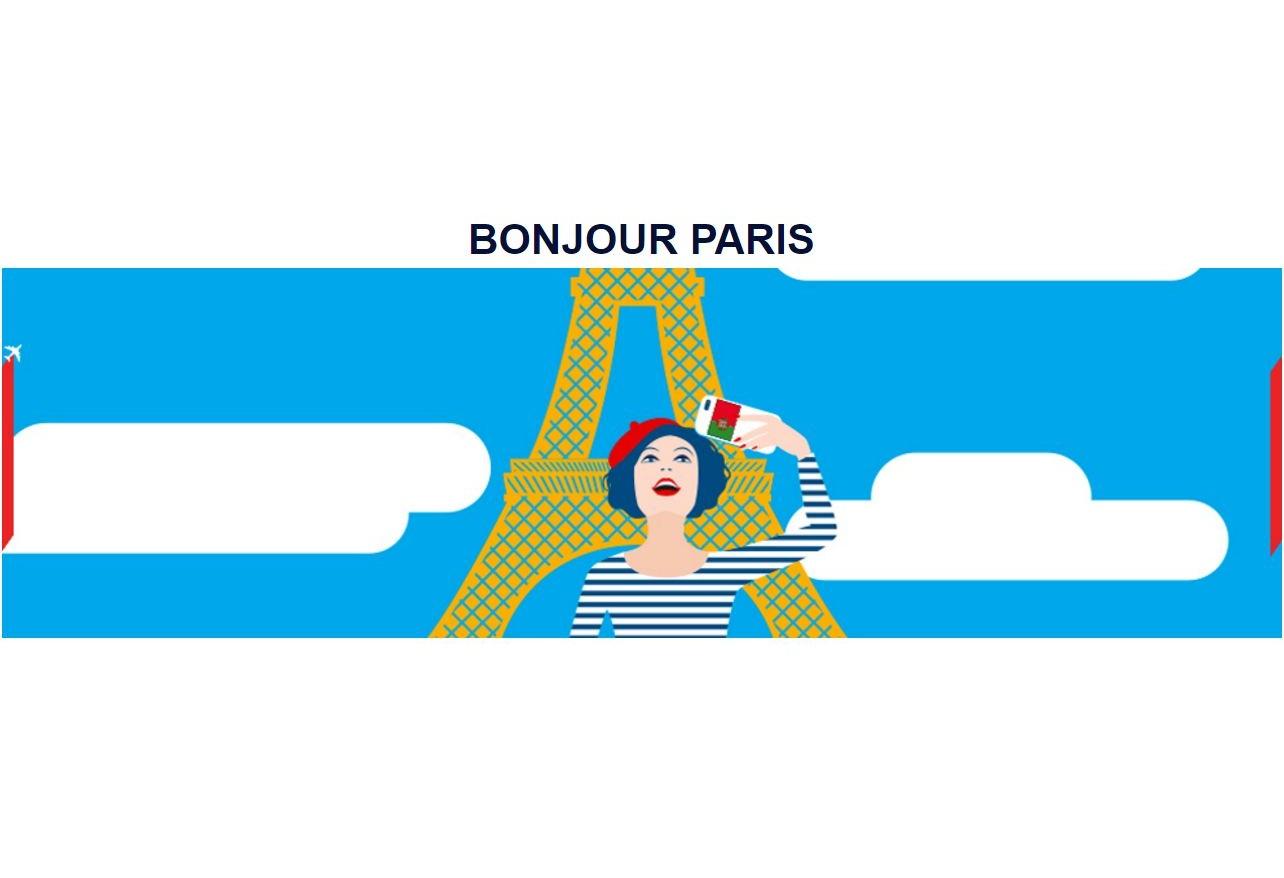 "Concurso da Air France ""Bonjour Paris"""