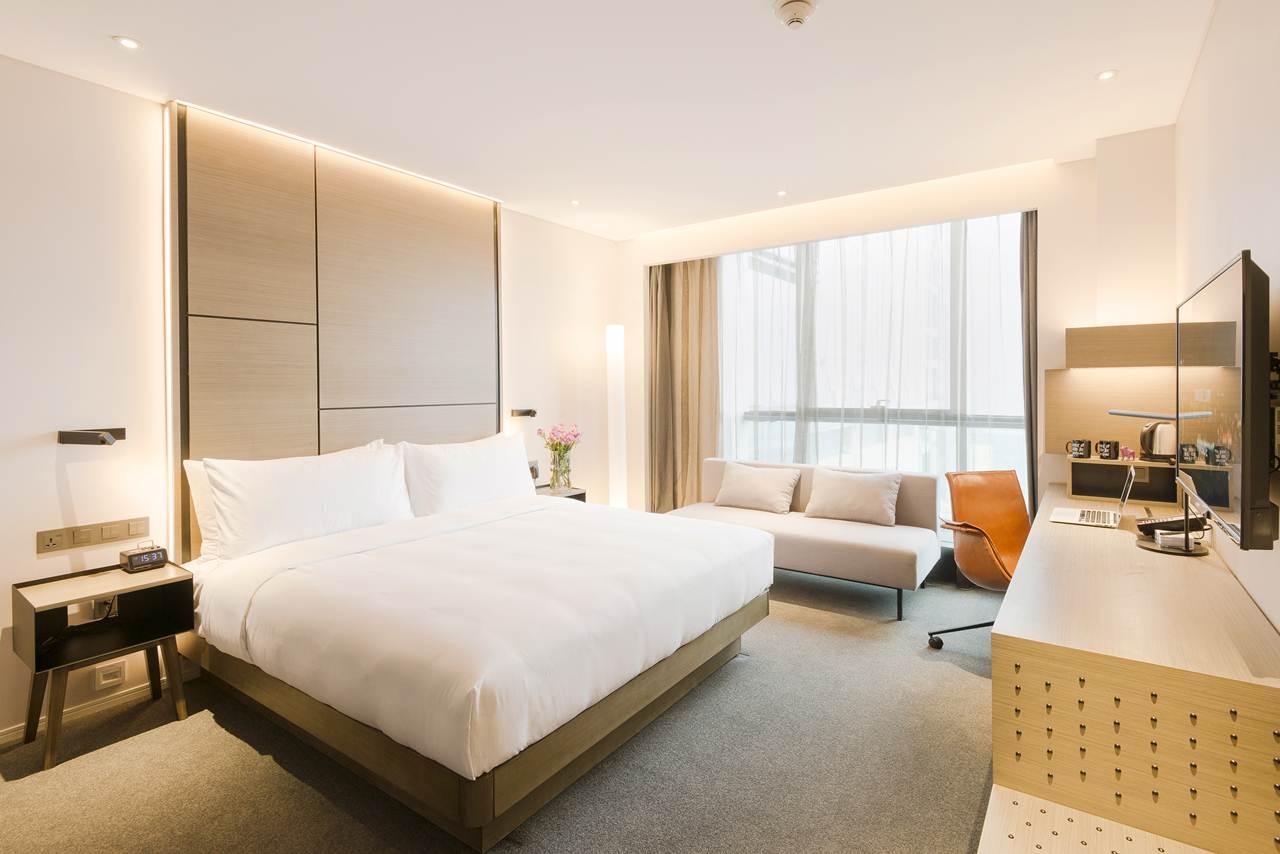 Innside by meli estreia na china com abertura do hotel for Hoteis zona centro com piscina interior