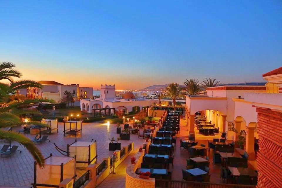 Exterior do Robinson Club Agadir em Marrocos