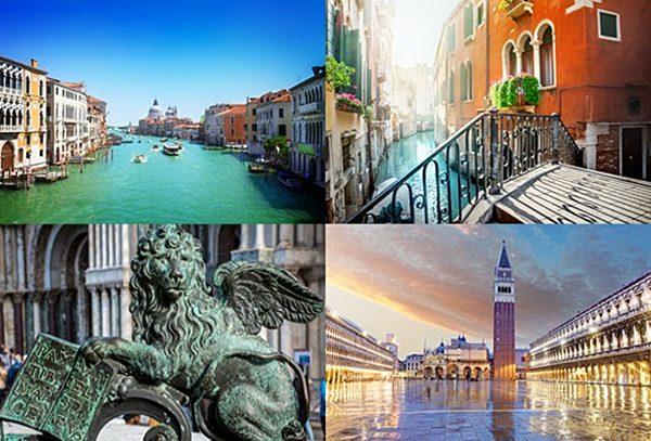 4 locais emblemáticos da cidade de Veneza