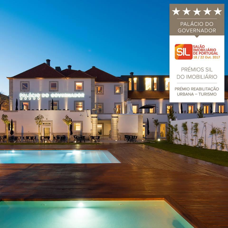 Hotel NAU Palácio do Governador recebe Prémio SIL - Turismo