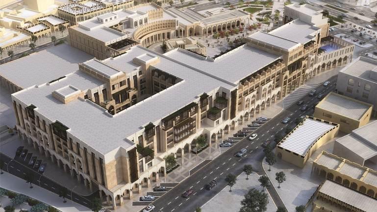 Complexo Al Najada em Doha que abriga os hotéis Tivoli e Oaks