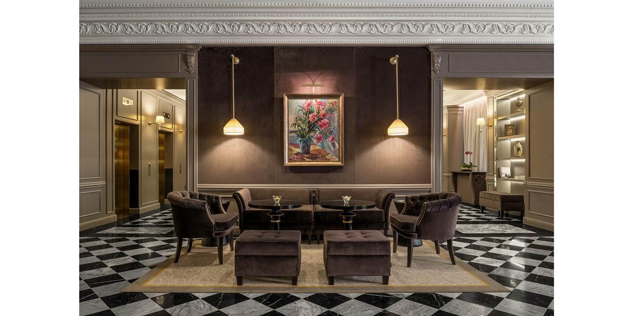 Lobby Bar do hotel Sheraton Nizhny Novgorod Kremlin