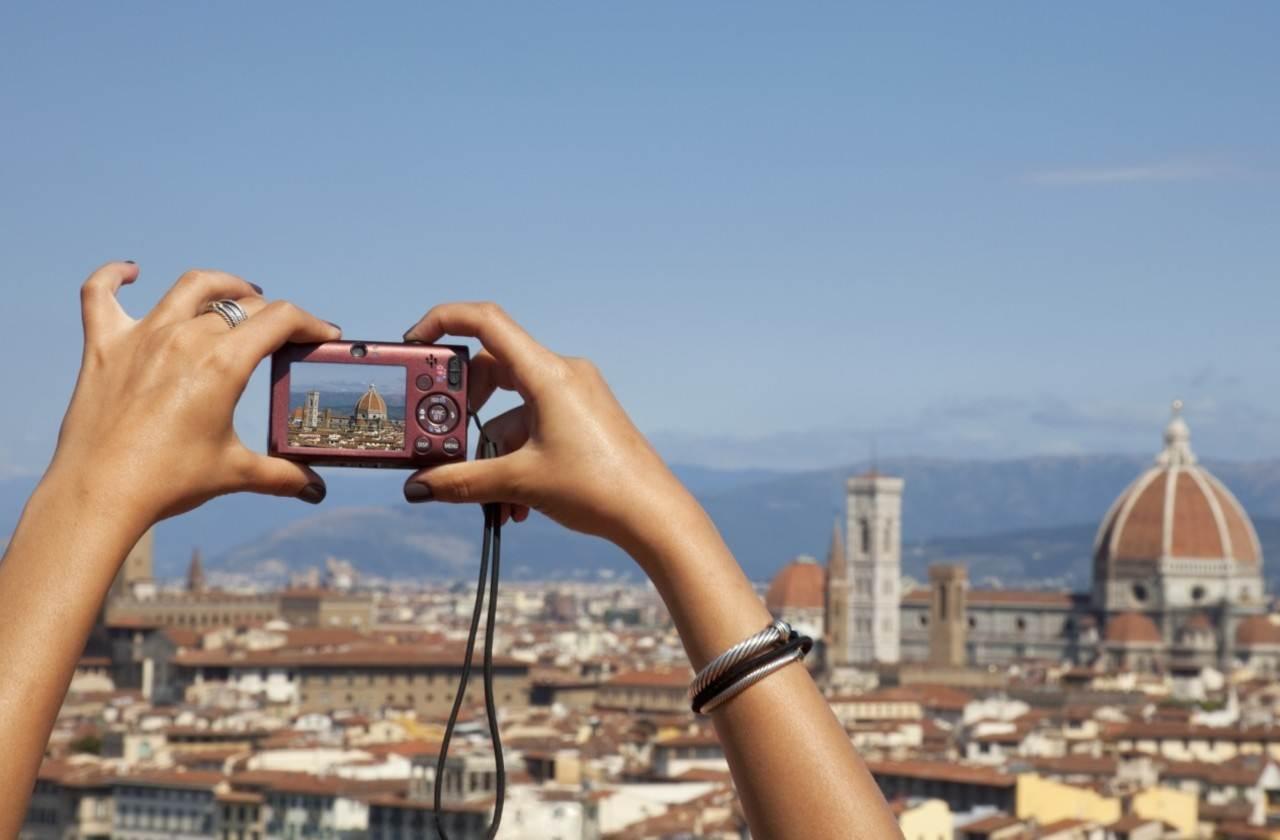Vista sobre a cidade de Milão - British Airways