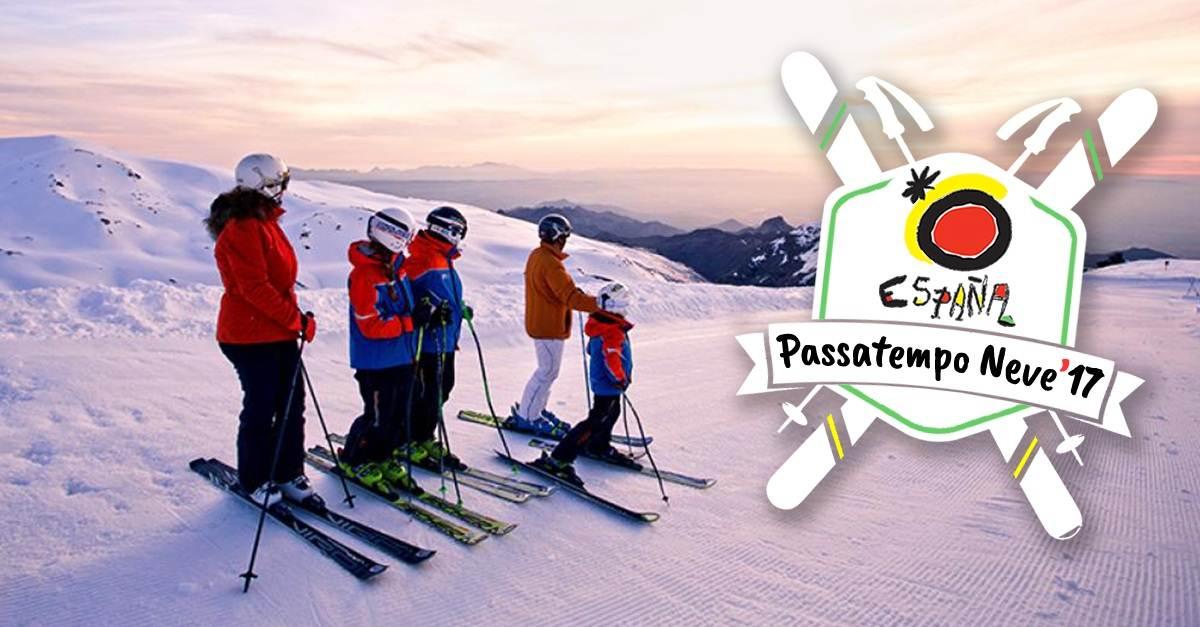 Passatempo Trivial Neve 2017 com pacote de ski em Formigal
