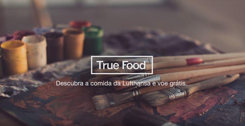 True Food: Passatempo da Lufthansa sorteia voos
