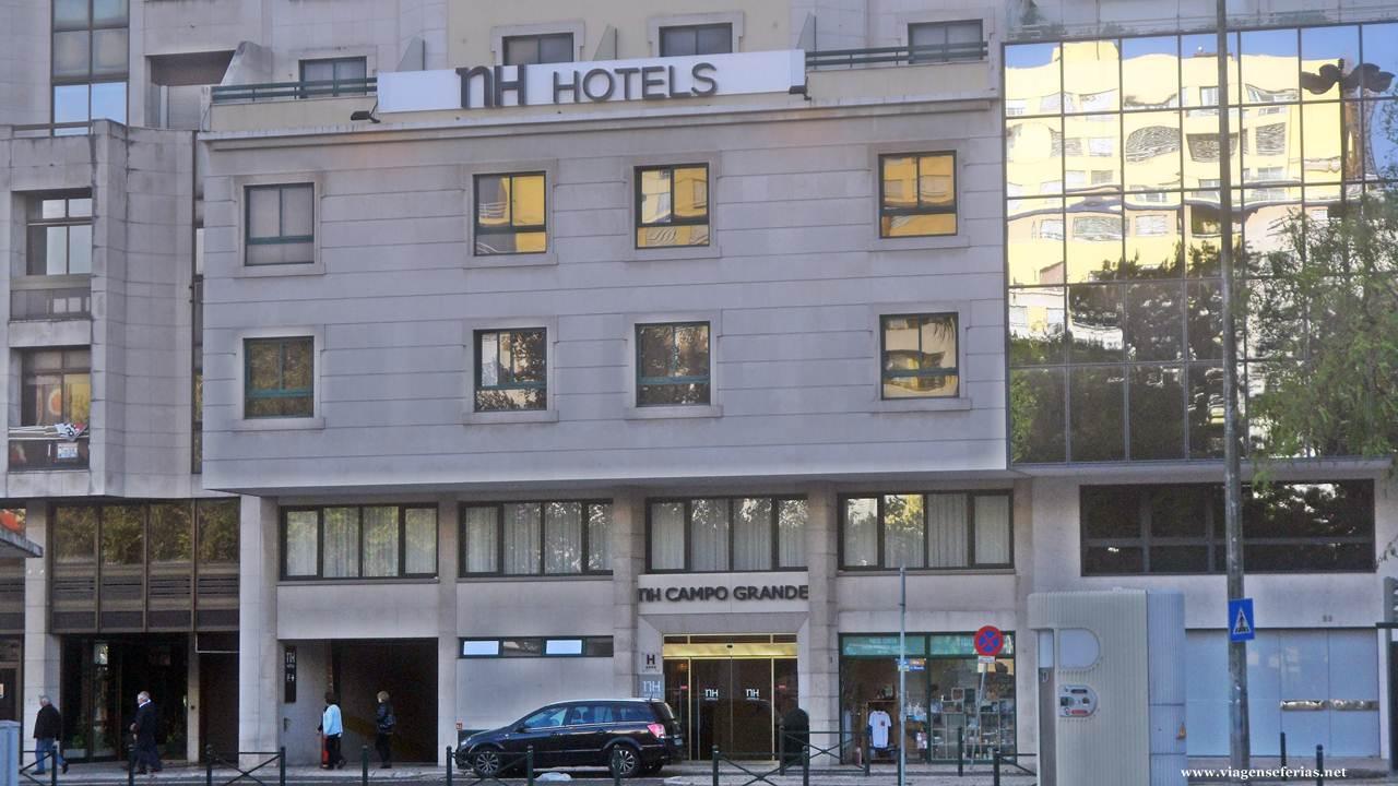 Unidade do NHHotel Group na cidade de Lisboa em Portugal