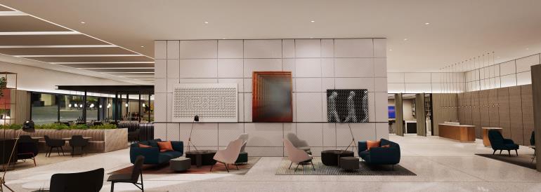 Crowne plaza revela design para o interior dos seus hot is for Hoteis zona centro com piscina interior